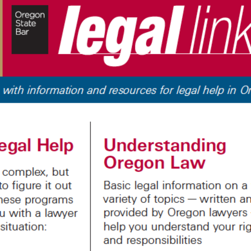 Legal Links Poster Design